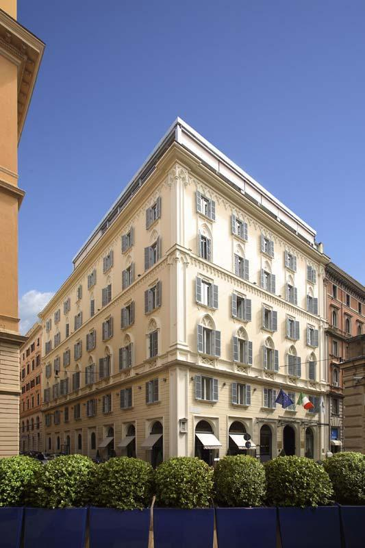 Photo gallery empire palace hotel rome for Hotel luxury roma